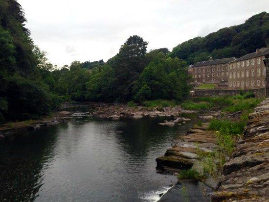 New Lanark Mill Hotel: Back