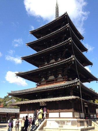 Horyuji Temple: 塔