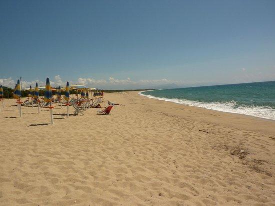 Villaggio Sayonara Club: spiaggia incantevole