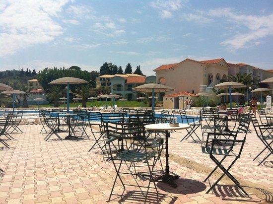 Corfu Sea Gardens: sett fra baren