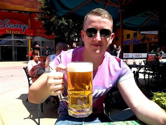 King Ludwig's Castle: big beer