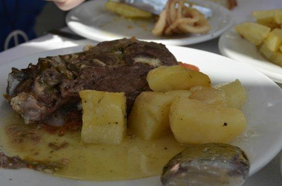 Anemomilos Restaurant: ягнёнок