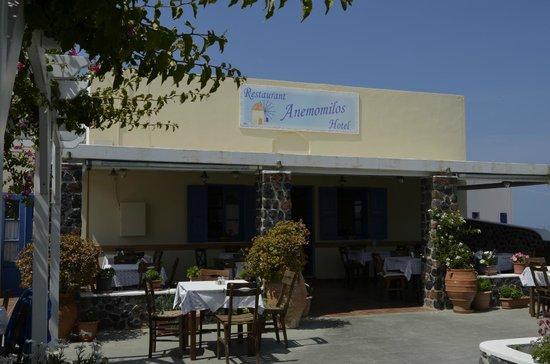 Anemomilos Restaurant: таверна