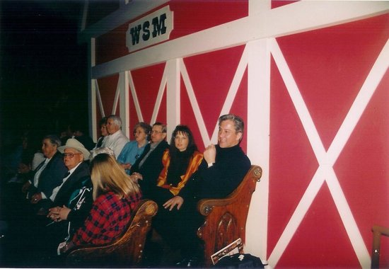 The Grand Ole Opry : Back Stage of the Opry
