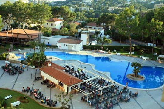 Hotel piscina picture of bq belvedere hotel palma de for Piscina palma de mallorca