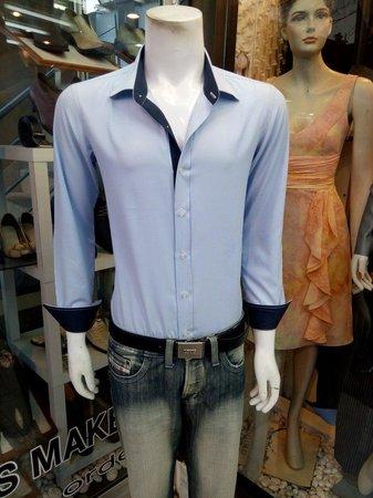 V-Versace tailor made shirt  lamai beach koh samui