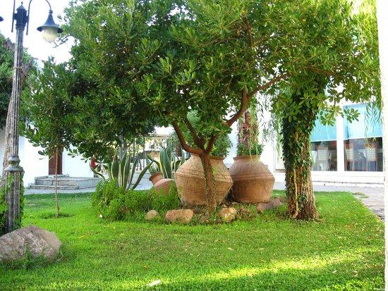 Malemi Organic Hotel: Hotel grounds