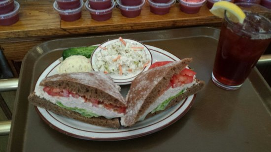 Sam LaGrassa's: Tuna on wheat