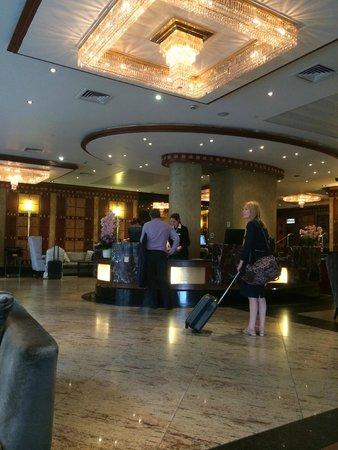 Grange City Hotel: Reception