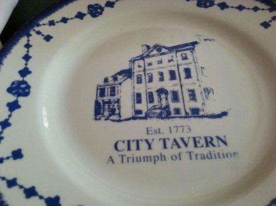 City Tavern : Plates