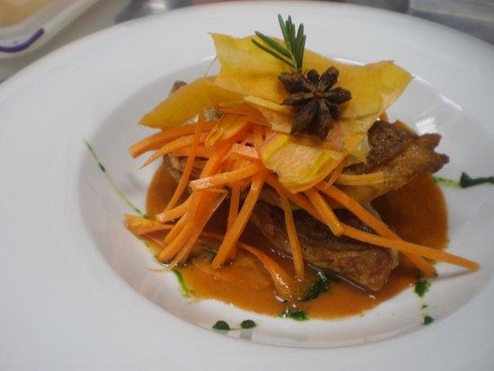 Stara Loza: Dentex & Carrot