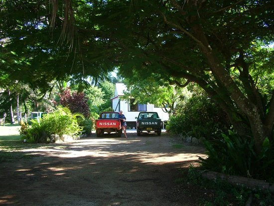 Atiu Homestay: Entrance