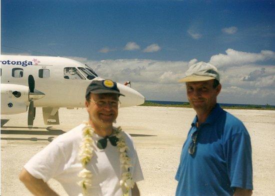 Atiu Homestay: Fly Air Rarotonga