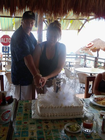 Carlo's N Charlie's Beach Club: yes, tequila was involved!