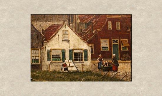 De Mesdag Collection : Fragment uit een van de schilderijen van Mesdag.