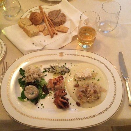 Ristorante Alle Corone : Mixed sea food starter