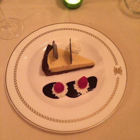 Ristorante Alle Corone : Chocolate cheesecake
