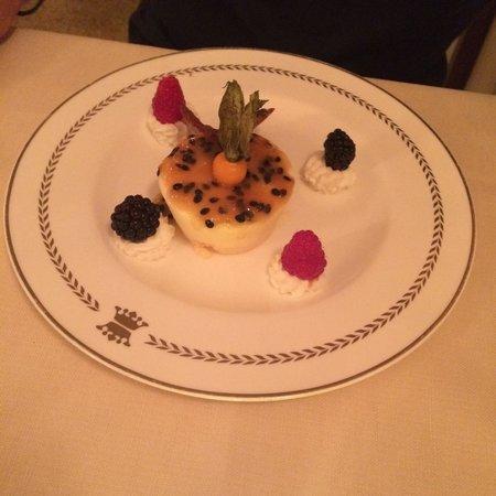 Ristorante Alle Corone : Passionfruit ice cream