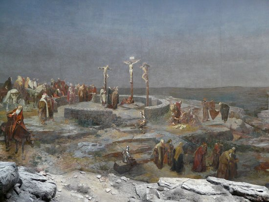Jerusalem Panorama: La Crocefissione