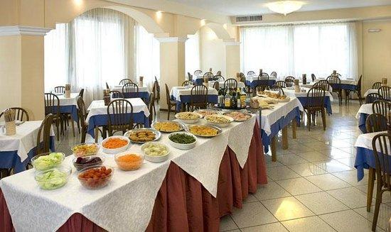 Hotel Boccaccio: SALA RISTORANTE