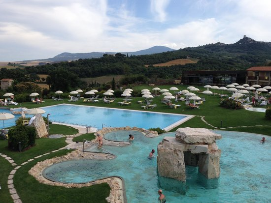 Hotel Adler Thermae Spa & Relax Resort : la zona piscine