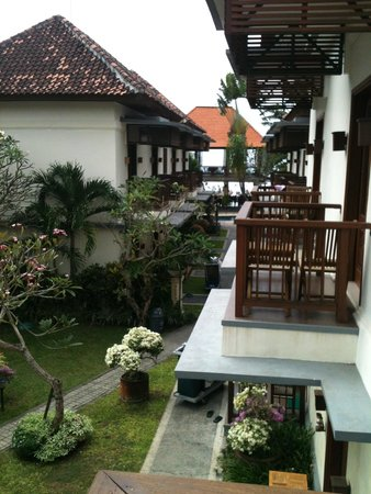 Respati Beach Hotel - Sanur: view from hotel room