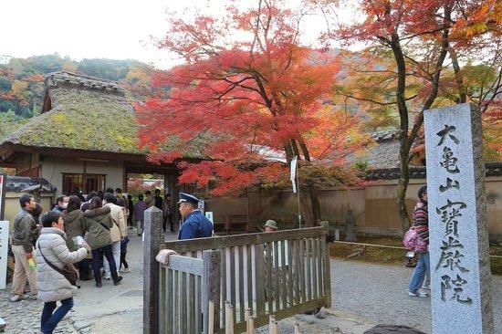 Hogonin Temple: 宝厳院入口