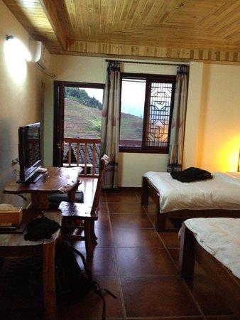 Longji Holiday Hotel : Room