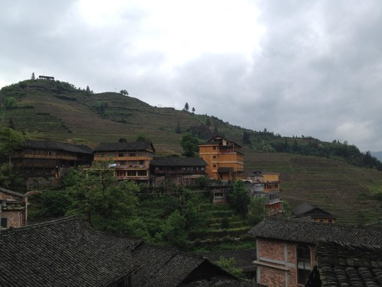 Longji Holiday Hotel : View from the room