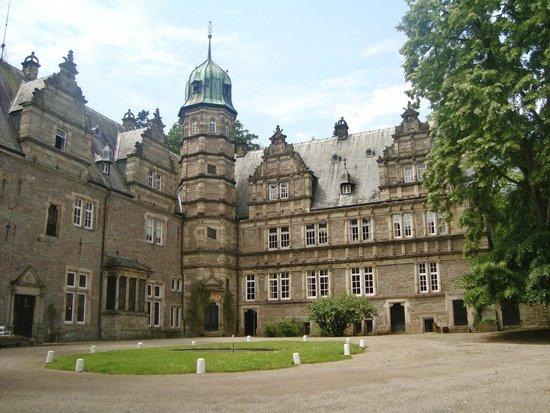 Schloss Hämelschenburg: Binnenplaats