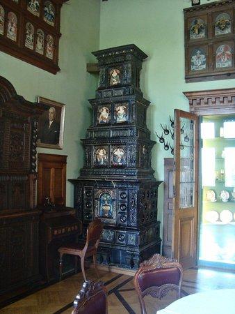 Schloss Hämelschenburg: een van de zalen
