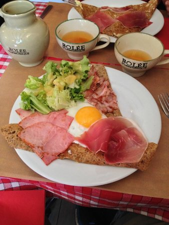 Crêperie Brocéliande : Crepes du Chef