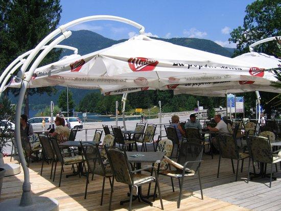 Jezero Hotel: Summer terrace