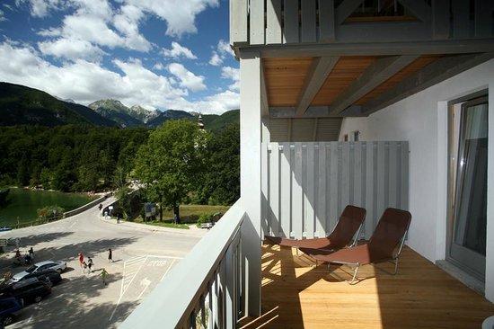 Jezero Hotel: View from balcony