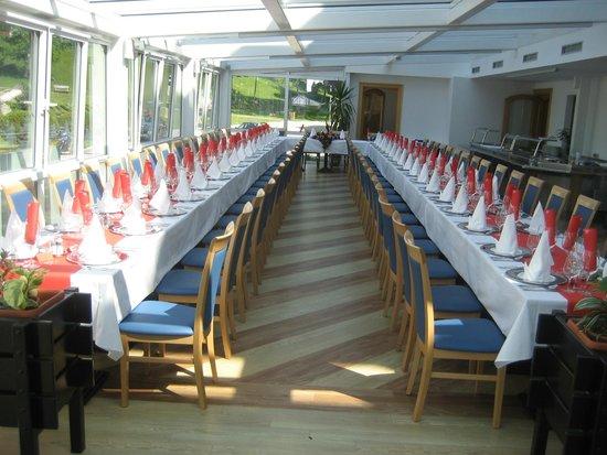 Jezero Hotel: Table for wedding