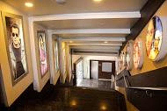 Kishangarh, Indien: cinema entry
