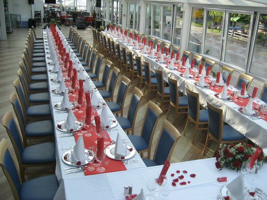 Jezero Hotel: Table for wedding
