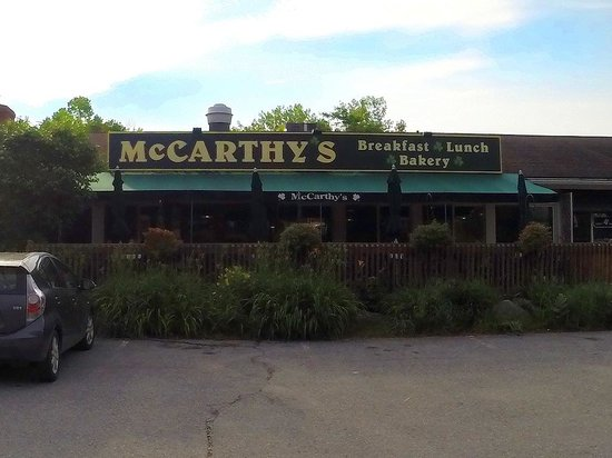 McCarthy's Restaurant: open at 6:30am