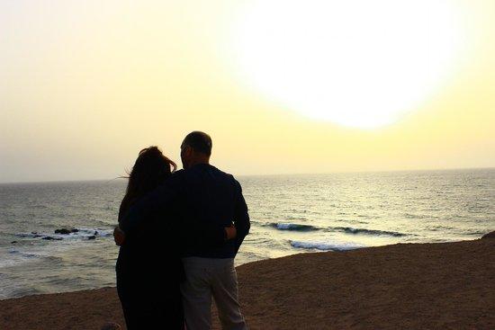 SENTIDO H10 Playa Esmeralda: TRamonto a La Pared