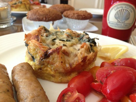 Liberty Hill Inn : breakfast fritata