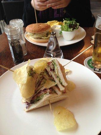 Bouf: Club sandwich :)