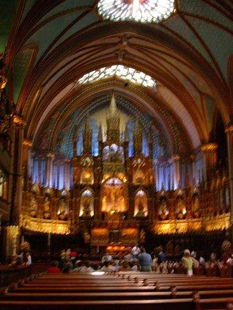 Basilique Notre-Dame de Montréal : Внутри