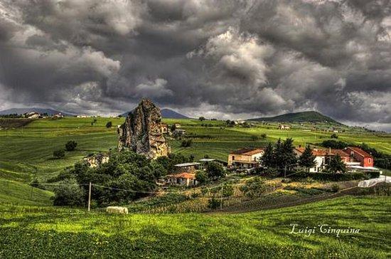 Salcito, Italien: Foto panoramica dell'azienda agrituristica Morgia dei Briganti