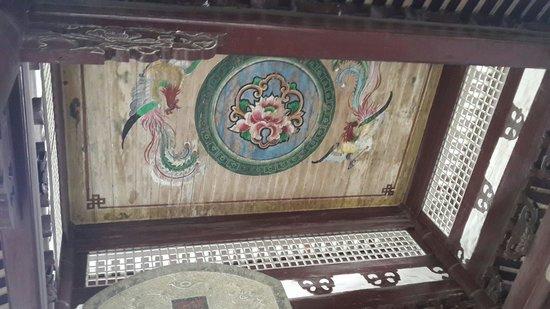 ZongTaoZhai: Roof inside