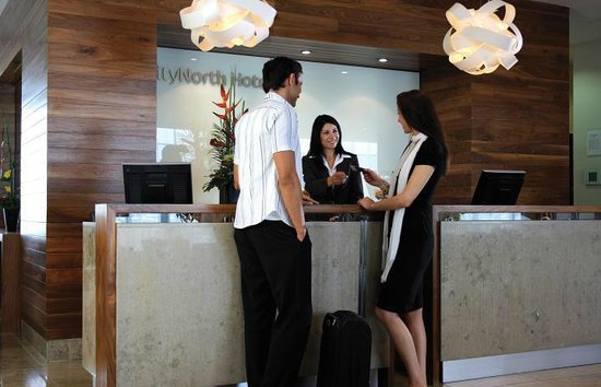 CityNorth Hotel: Reception