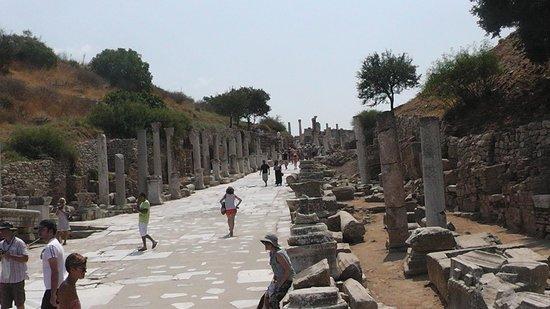 Vieille ville d'Éphèse : Ephesus-Turkey