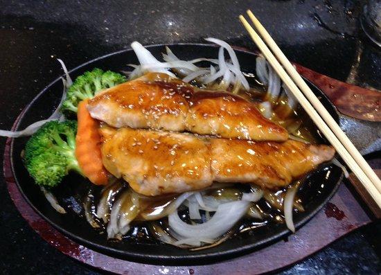 Sakura: Salmon teriyaki