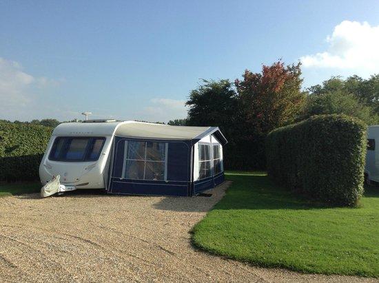 Hill Cottage Farm Camping & Caravan Park: Hardstanding pitches