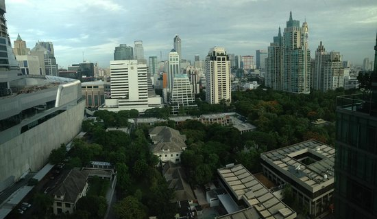Sivatel Bangkok: View from room - overlooking the British Embassy