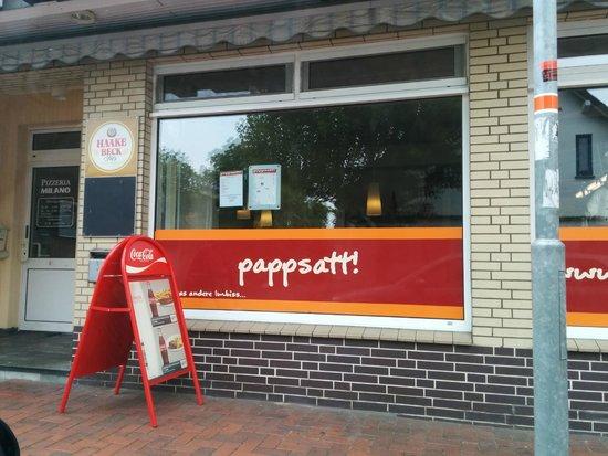"""Grill """"Pappsatt"""" in Harpstedt"""